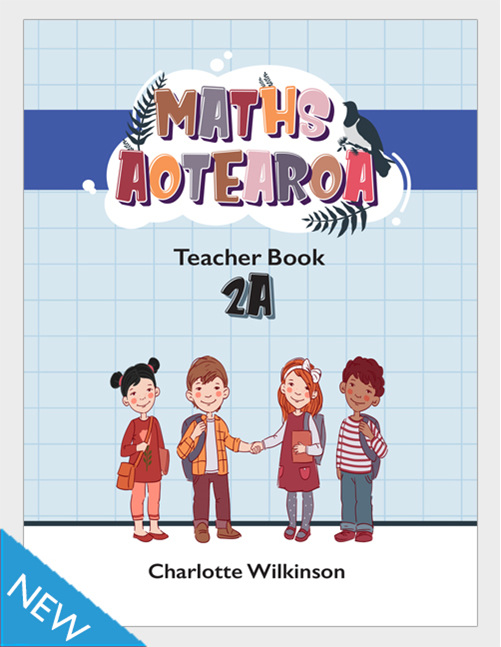 Maths Aotearoa 2a Teacher Book - buy online from Edify