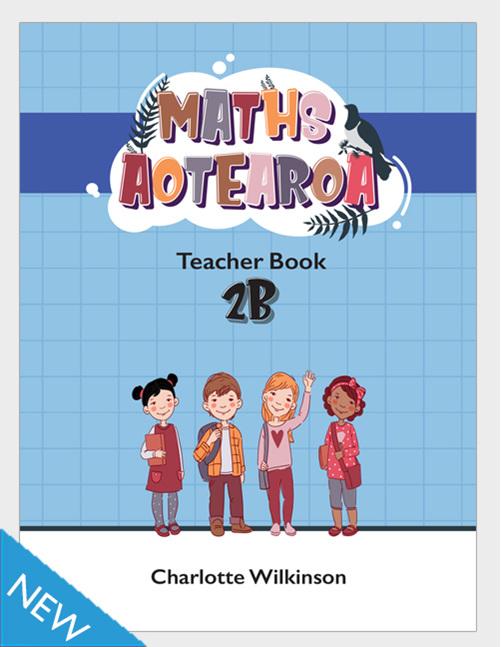 Maths Aotearoa 2b Teacher Book - buy online from Edify