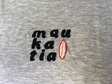 maukatia hand embroidered tshirt