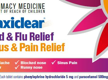 Maxiclear Cold & Flu Sinus & Pain Relief 30s