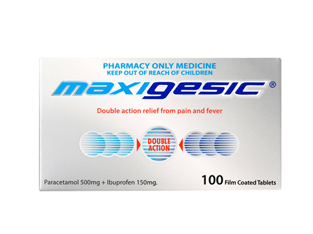 Maxigesic Double Action Pain Relief Tablets 100s