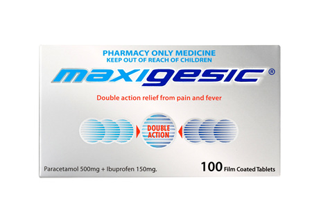 Maxigesic®  Double Action Pain Relief Tablets 100s