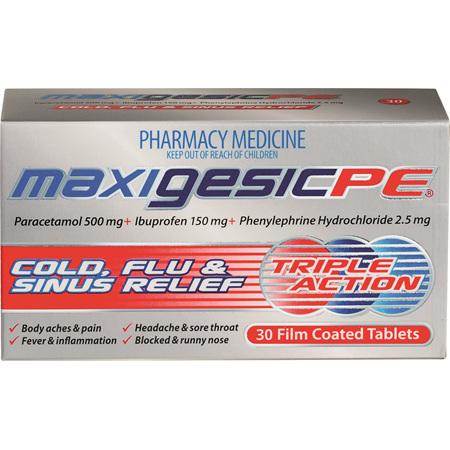 Maxigesic®  PE 30's