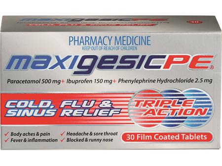 Maxigesic PE 30's