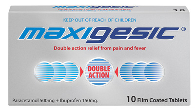Maxigesic Tablets 10s