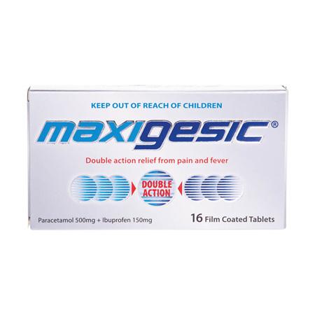 Maxigesic Tablets 16