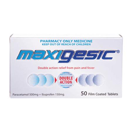 Maxigesic Tablets 50