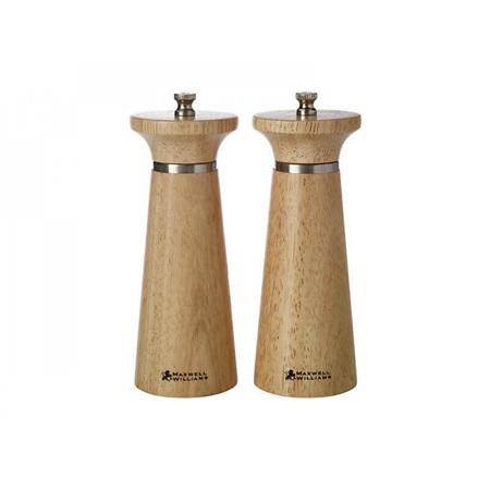 Maxwell & Williams Oslo S&P Mill Set 16cm NATURAL