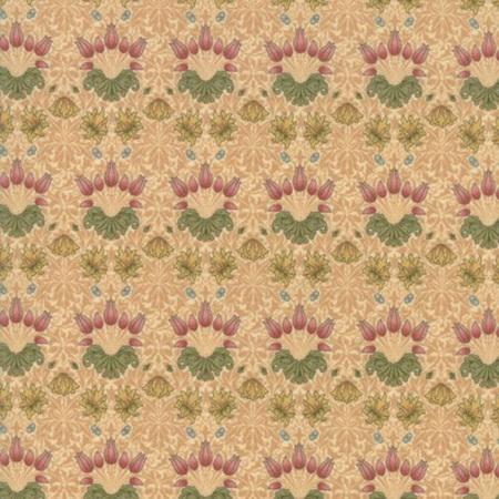 May Morris Studio Tulip Cream 7342-11