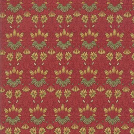 May Morris Studio Tulip Crimson 7342-13