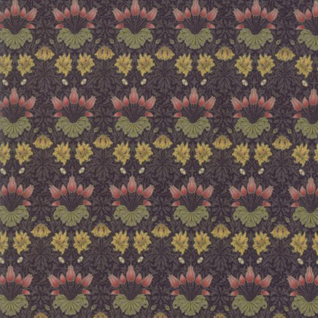 May Morris Studio Tulip Ebony 7342-17