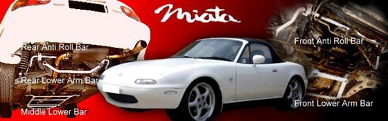Mazda MX5 NA6 & NB8 Models