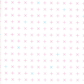 MBC - Geometric Crosses in Pink 1645 - 13
