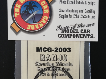 MCG 1/24-1/25 Banjo Steering Wheels (MCG-2003)