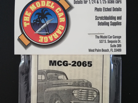 MCG 1/25 50 Ford Pickup Detail Set (MCG-2065)