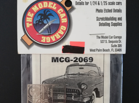 MCG 1/25 55 Chevy Bel Air Detail Set (MCG-2069)