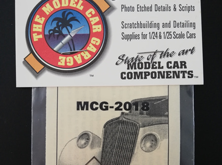MCG 1/25 Hi-Tech 33 Willys Grille (MCG-2018)