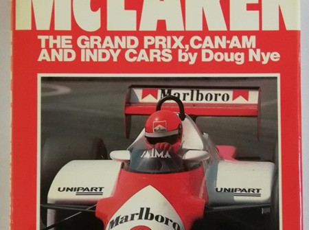 McLaren the Grand Prix, Can-Am and Indy Cars by Doug Nye