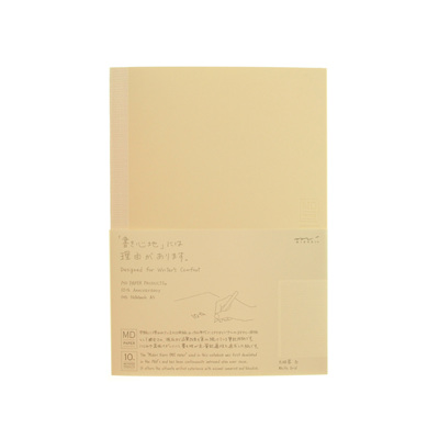 MD Paper notebook - A5 - WHITE GRID