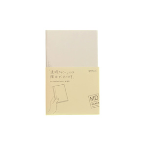 MD Paper notebook cover - CLEAR - B6 slim