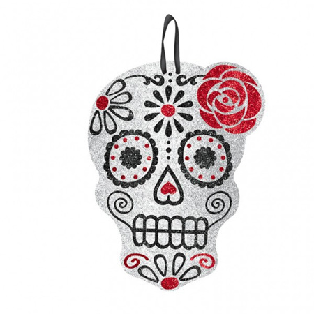 MDF skull hanger - Day of the Dead
