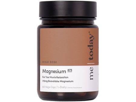 me today Magnesium 875 60 Vege Caps
