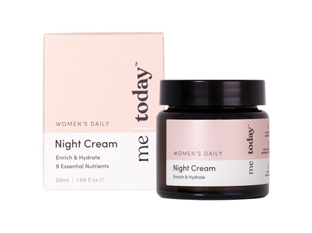 me today Women Daily Night Cream 50ml