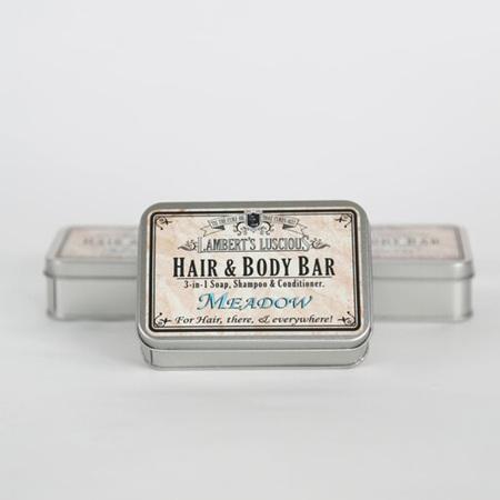 Meadow Hair & Body Bar Tin