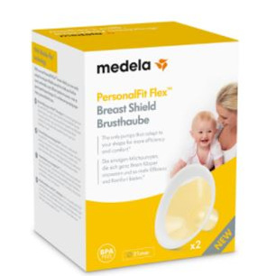 MEDELA BREAST SHIELD PERSONAL FIT FLEX 21Mm  2 PK
