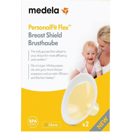 MEDELA BREAST SHIELDS MEDIUM