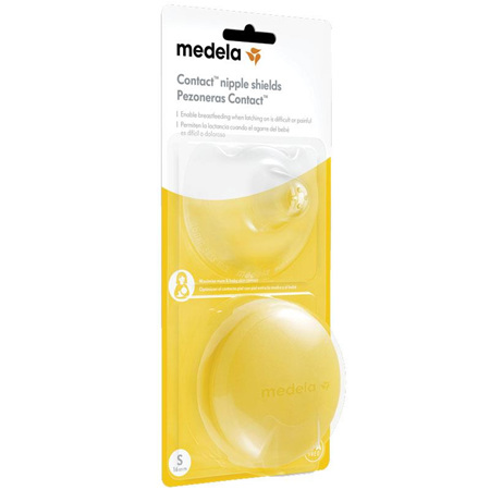 MEDELA CONTACT NIPPLE SHIELDS S
