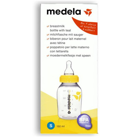 MEDELA MILK BOTTLE BPA FREE 150ML S TEET