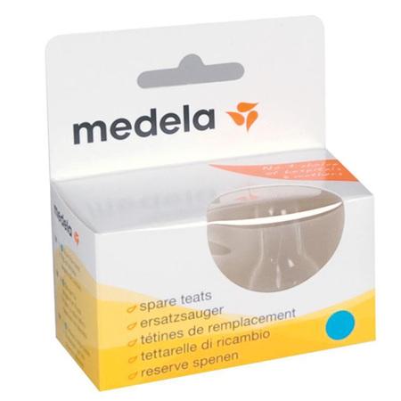MEDELA TEATS MED FLOW 2PK