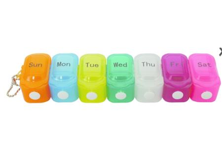 Medi Manager 7Day Push Btn Pill Box