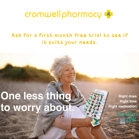 Medico Pak Makes it Easy to Take Your Medications Correctly