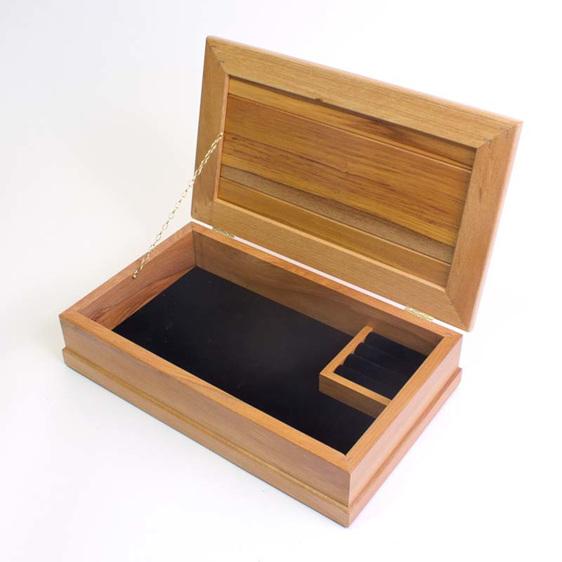 medium jewellery box black