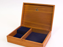 medium jewellery box navy