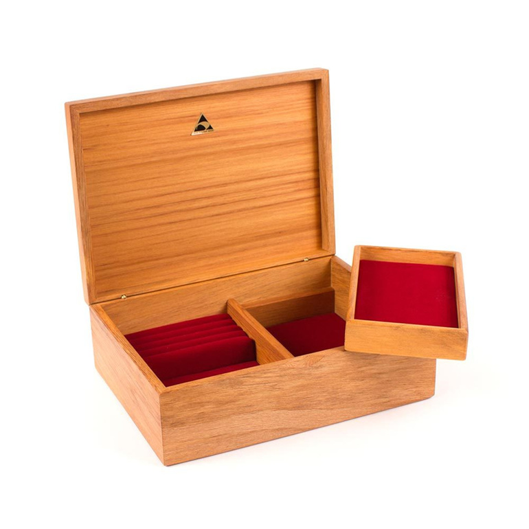 Medium Jewellery Box with Lift out Tray