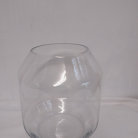 Megan Clear Glass Vase G3748