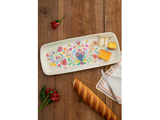 Melamine Tray-Thankful Grateful
