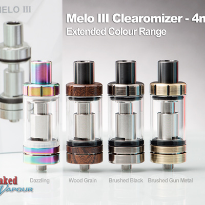 Eleaf Melo III Clearomizer - 4ml - Extended Colour Range