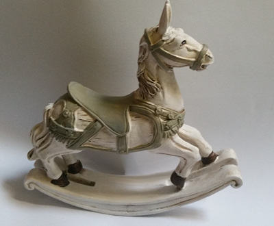 Melody Rocking Horse, Christmas Ornament