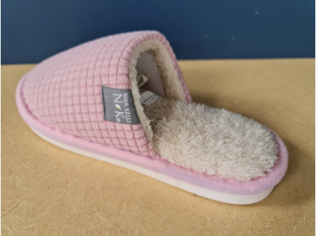 Melric Womens Slippers Pnk (5-6)