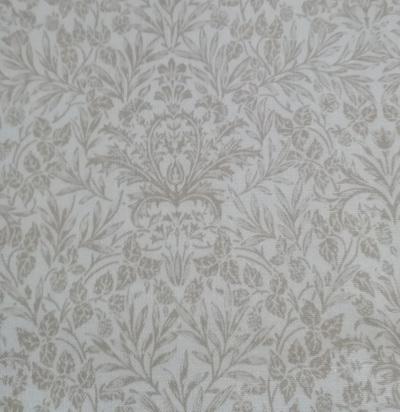 Memoire a Paris Floral Damask Brown 820817-2