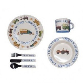 Men at work dinner set by Emma Bridgewater