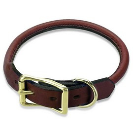 Mendota Rolled Leather Collars