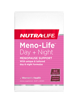 Meno-Life Day Night Menopause Support  - 60 Caps