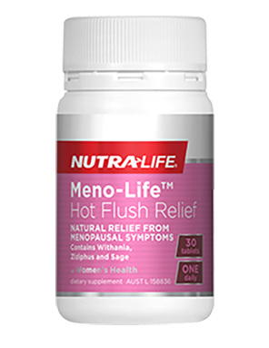 Meno-Life Hot Flush Relief  - 30 Tabs
