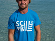 Men's Scilly Billy Logo Tee - Aqua