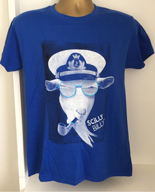 Men's Scilly Billy Tee - Blue